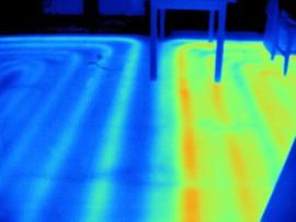 Themografie Fußbodenheizung